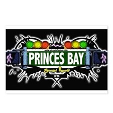 Princes Bay Staten Island NYC (Black) Postcards (P