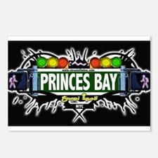 Princes Bay Staten Island NYC (Black) Postcards (P