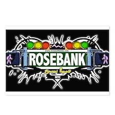 Rosebank Staten Island NYC (Black) Postcards (Pack