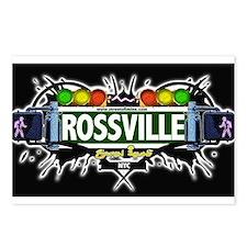 Rossville Staten Island NYC (Black) Postcards (Pac