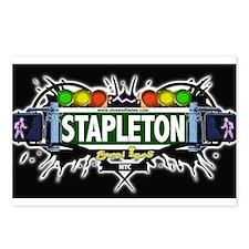 Stapleton Staten Island NYC (Black) Postcards (Pac