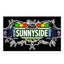 Sunnyside Staten Island NYC (Black) Postcards (Pac