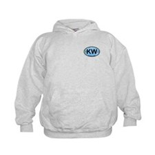 Key West - Oval Design. Hoodie