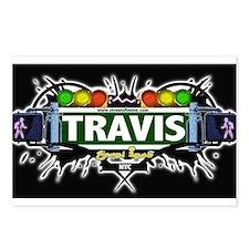 Travis Staten Island NYC (Black) Postcards (Packag