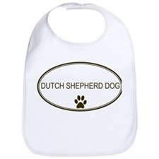 Oval Dutch Shepherd Dog Bib