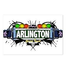 Arlington Staten Island NYC (White) Postcards (Pac