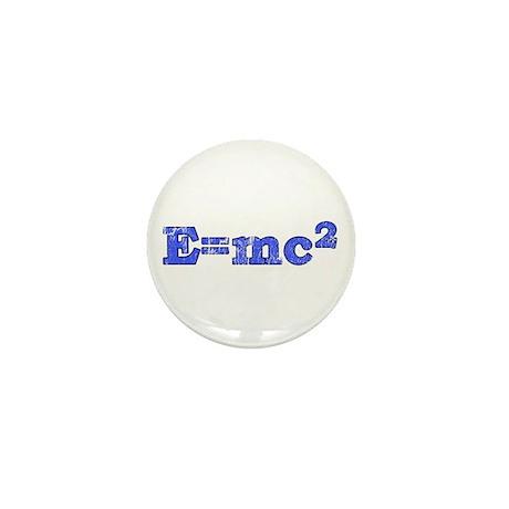 E=mc2 T-shirts Mini Button (100 pack)