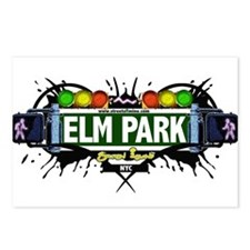 Elm Park Staten Island NYC (White) Postcards (Pack