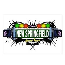 New Springfield Staten Island NYC (White) Postcard