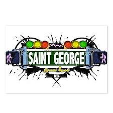 Saint George Staten Island NYC (White) Postcards (
