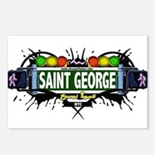 Saint George Staten Island NYC (White) Postcards (