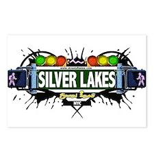 Silver Lake Staten Island NYC (White) Postcards (P