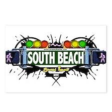 South Beach Staten Island NYC (White) Postcards (P