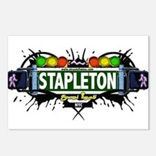 Stapleton Staten Island NYC (White) Postcards (Pac