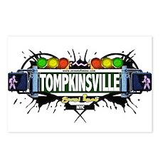 Tompkinsville Staten Island NYC (White) Postcards