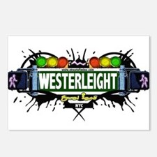 Westerleight Staten Island NYC (White) Postcards (