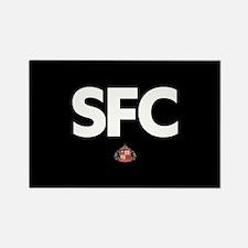 Sunderland SFC -full bleed Rectangle Magnet
