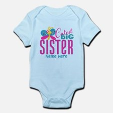 Personalized Big Sister Infant Bodysuit