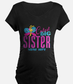 Personalized Big Sister T-Shirt