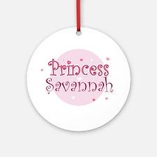 Savannah Ornament (Round)