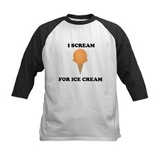 I Scream For Ice Cream (Orange) Baseball Jersey