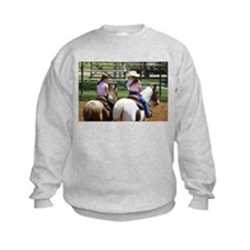boys vs horses.JPG Sweatshirt