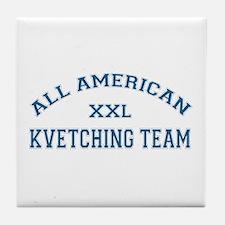 AA Kvetching Team Tile Coaster