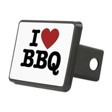 I heart BBQ Hitch Cover