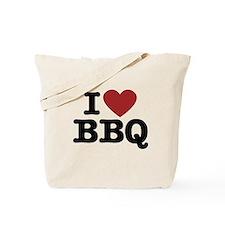 I heart BBQ Tote Bag