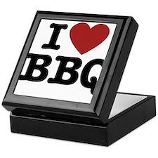 I heart BBQ Keepsake Box