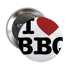 "I heart BBQ 2.25"" Button"