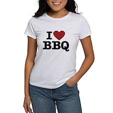 I heart BBQ T-Shirt