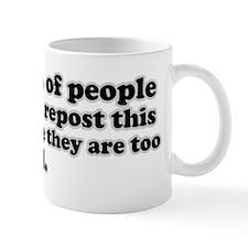 Social media joke Mug