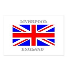 Liverpool England Postcards (Package of 8)