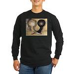Jacobin Pigeons Long Sleeve Dark T-Shirt