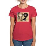 Jacobin Pigeons Women's Dark T-Shirt