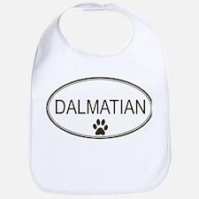 Oval Dalmatian Bib