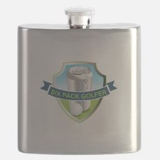 Six Pack Golfer Flask
