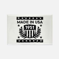 Made In USA 1951 Rectangle Magnet