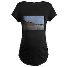 Highway 1 Big Sur Maternity T-Shirt