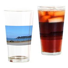Hwy1, Big Sur, CA - water shoreline Drinking Glass