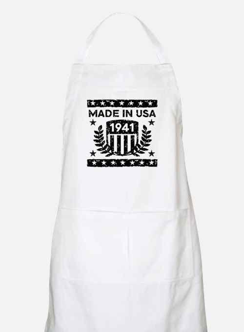 Made In USA 1941 Apron