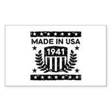 Made In USA 1941 Decal
