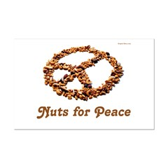Nuts for Peace Small Poster