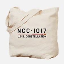 USS Constellation Dark Tote Bag