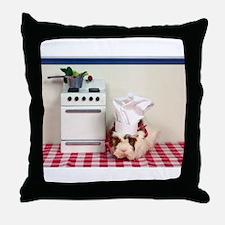 Chef Guinea Throw Pillow