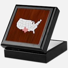 'Texas' Keepsake Box
