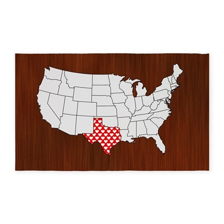 'Texas' 3'x5' Area Rug