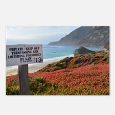 Private Coastline Postcards (Package of 8)