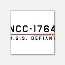 USS Defiant TOS Dark Sticker